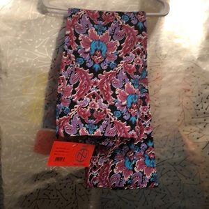 Frida Side zip floral pants.